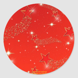 El rojo protagoniza al pegatina