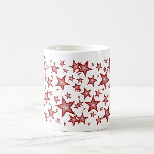 El rojo protagoniza blanco de la taza