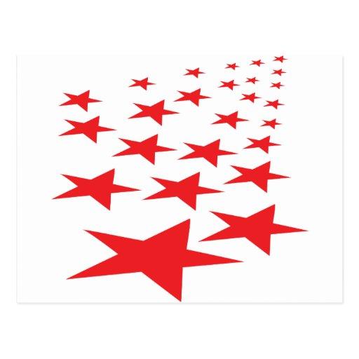 el rojo protagoniza la alfombra tarjeta postal