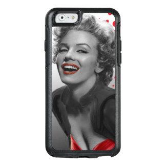El rojo puntea a Marilyn Funda Otterbox Para iPhone 6/6s