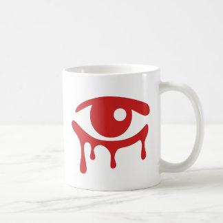 El rojo rasga la taza