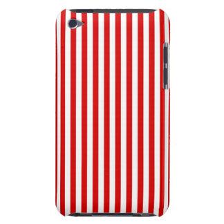 El rojo raya la caja de IPod Case-Mate iPod Touch Coberturas