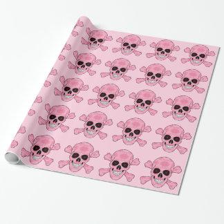 El rojo rosado del cráneo de Camo observa el papel