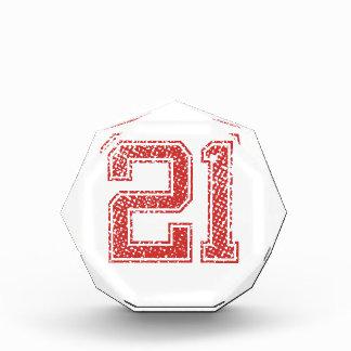 El rojo se divierte Jerzee número 21