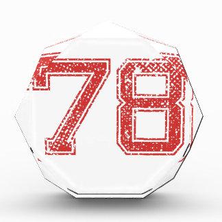El rojo se divierte Jerzee número 78