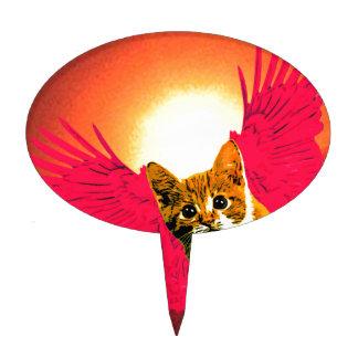 el rojo se va volando el gatito decoraciones de tartas
