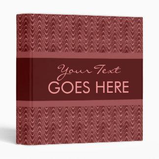 El rojo sucio agita el cuaderno