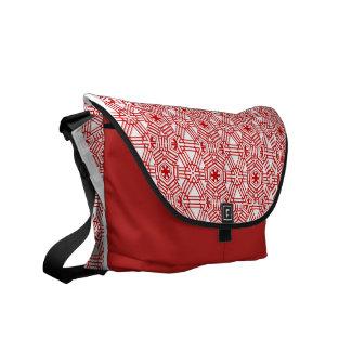 El rojo teja la bolsa de mensajero bolsas messenger
