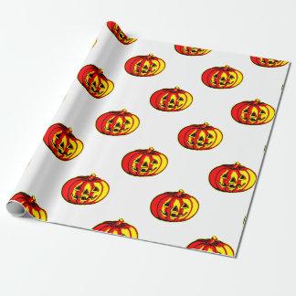 El rojo y el amarillo hace el papel de embalaje papel de regalo
