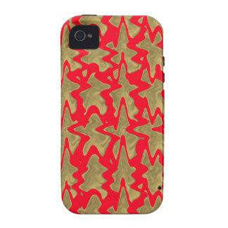 El rojo y el oro del estilo chino diseñan el iPhone 4 carcasa