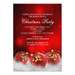 El rojo y la fiesta de Navidad de las chucherías Invitación Personalizada