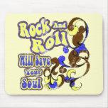 El rollo de la roca N ahorra Mousepad Tapetes De Ratón
