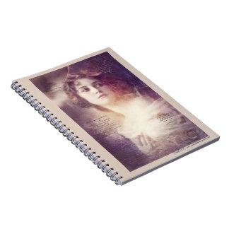 El romance de Jane - con el texto Notebook