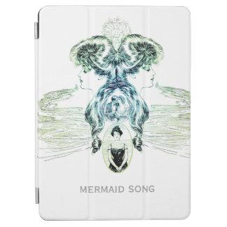 El romance del amor del azul de océano del verde cover de iPad air