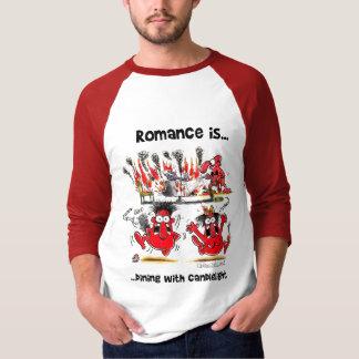 El romance es… Cena con luces de una vela Poleras