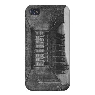 El Romer Pasillo en Frankfurt-am-Main iPhone 4/4S Carcasas