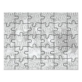 """El rompecabezas adaptable Card-30 de la """"mofa"""" de Anuncios Personalizados"""
