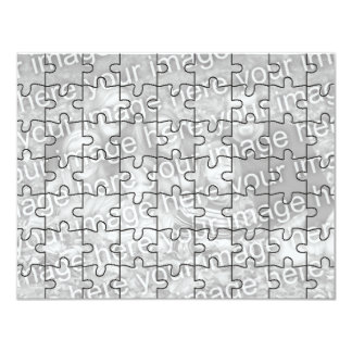 """El rompecabezas adaptable Card-63 de la """"mofa"""" de Comunicado Personalizado"""