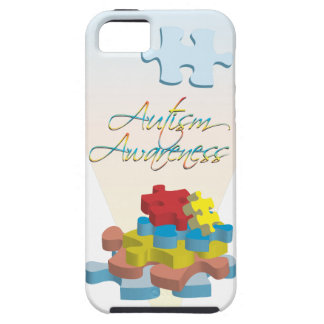 El rompecabezas de la conciencia del autismo junta iPhone 5 carcasa
