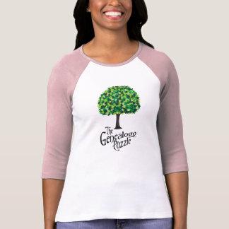 El rompecabezas de la genealogía camiseta