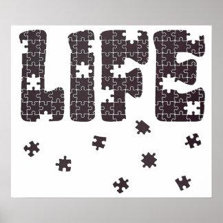 El rompecabezas de la vida póster
