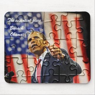 El rompecabezas de Obama junta las piezas del cojí Tapetes De Ratón