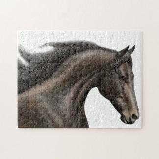 El rompecabezas excelente real del caballo