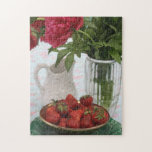 El rompecabezas fresco de las fresas