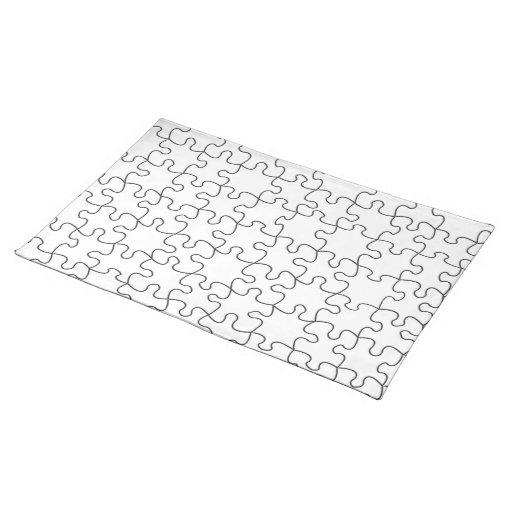 El rompecabezas junta las piezas (añada el color o mantel