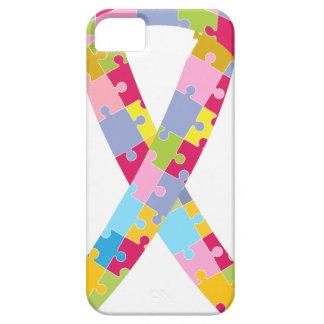 El rompecabezas junta las piezas de la cinta funda para iPhone SE/5/5s