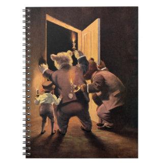 El Roosevelt lleva como los detectives del oso de  Cuadernos