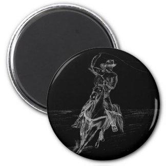 El Roping del vaquero Imán Redondo 5 Cm