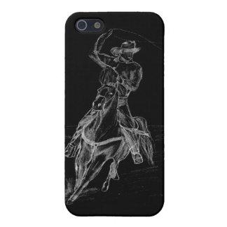 El Roping del vaquero iPhone 5 Carcasas