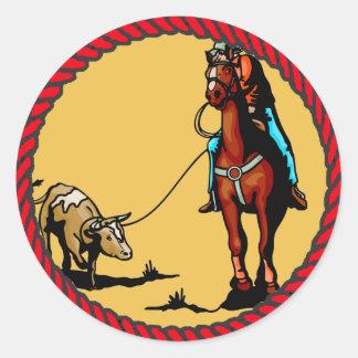 El Roping Roping del buey del equipo occidental