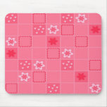 El rosa ajustó Mousepad Tapete De Raton