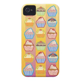 El rosa amarillento de las magdalenas de Lotsa Case-Mate iPhone 4 Fundas