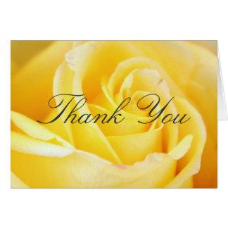 El rosa amarillo le agradece las tarjetas