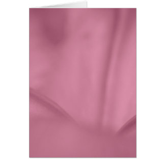 El rosa arrugó textura del primer de la flor felicitacion