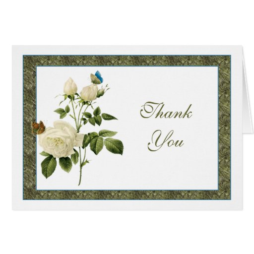 El rosa blanco de Provencal le agradece observar Tarjeta Pequeña