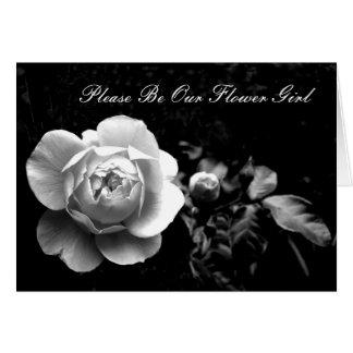 El rosa blanco sea por favor nuestro florista tarjeton