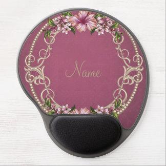 El rosa coloreó Mousepad personalizado apariencia Alfombrillas De Ratón Con Gel