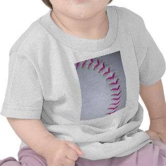 El rosa cose béisbol/softball camisetas