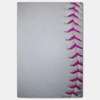 El rosa cose softball nota