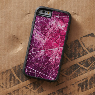 El rosa Crackled textura del Grunge del modelo de Funda De iPhone 6 Tough Xtreme