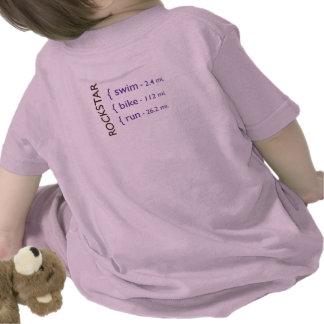 El rosa de bebé T Camisetas