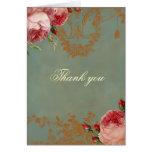 El rosa de Blenheim le agradece Tarjetas