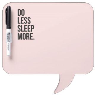 El rosa de De Motivational Quotes hace menos Pizarras Blancas