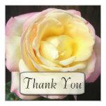 """El rosa de la paz le agradece las tarjetas invitación 5.25"""" x 5.25"""""""