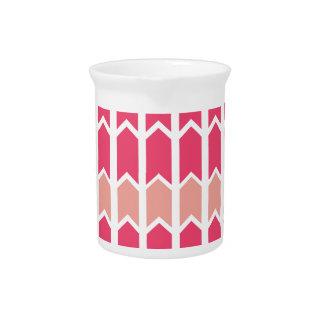 El rosa del caramelo de algodón confinó el panel jarrón