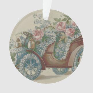 El rosa del coche me olvida las flores no florales